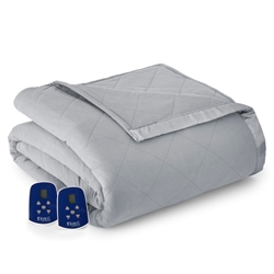 Greystone Micro Flannel® Oversized Heated Electric Blanket